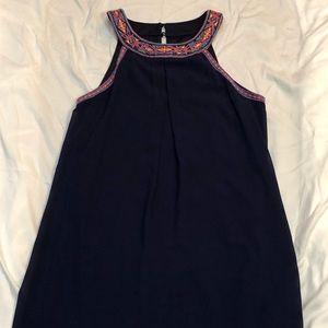 Blue semi formal dress